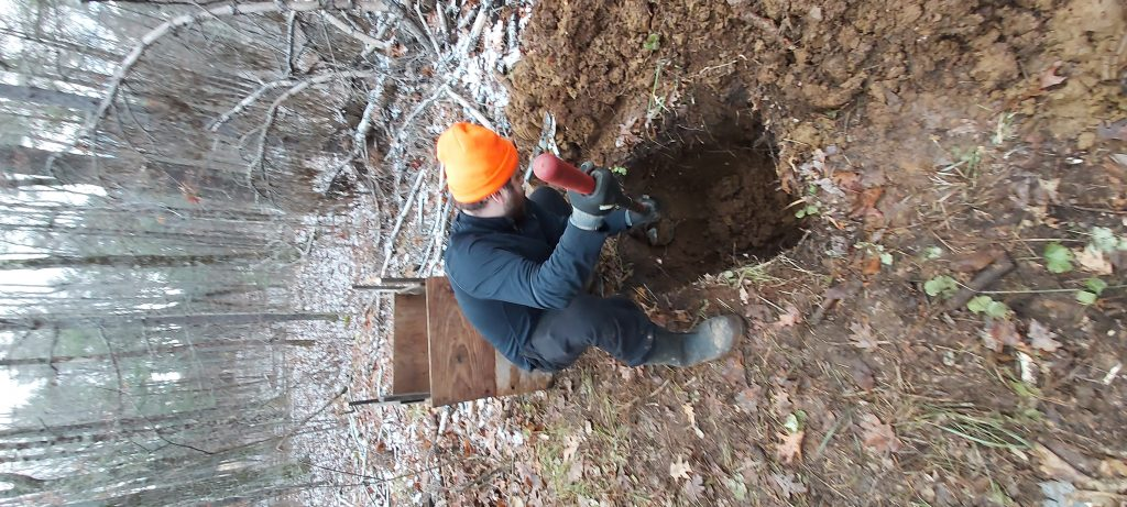 How To Dig An Outhouse Pit