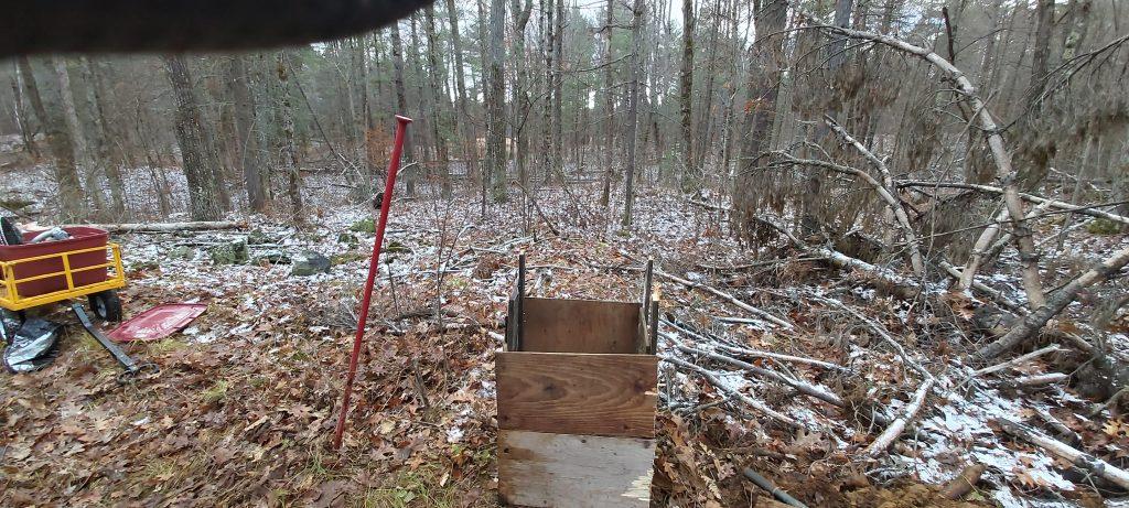 outhouse pit box